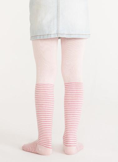 Penti Pretty Crystal Külotlu Çorap Pembe